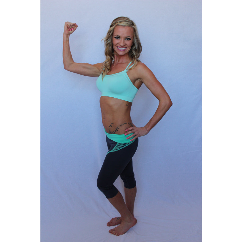 Lovely in mint sports bra,(product_type), (product description) - boutique clothing, peace Love and royalty boutique