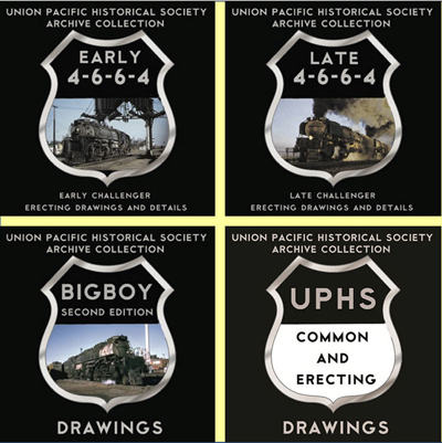 UPHS Steam Drawings Four Pack