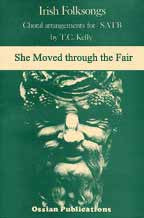 She Moved through the Fair  - Sheetmusic