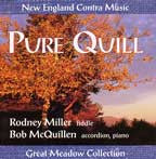 Pure Quill - Rodney Miller - CD