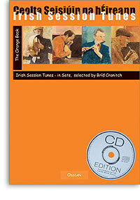 Irish Session Tunes Orange Book/CD - Brid Cranitch