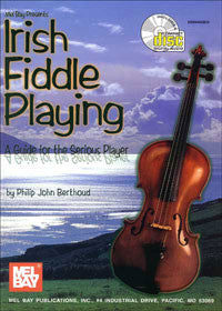 Irish Fiddle Playing Book/CD Set - Philip John Berthoud