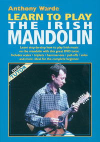 Learn to Play the Irish Mandolin DVD - Anthony Warde