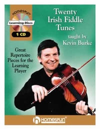 Twenty Irish Fiddle Tunes - taught by Kevin Burke      Book + CD