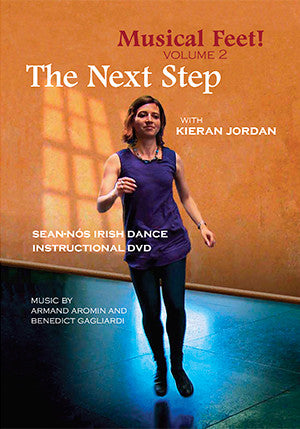 Musical Feet Volume 2 THE NEXT STEP DVD - Kieran Jordan