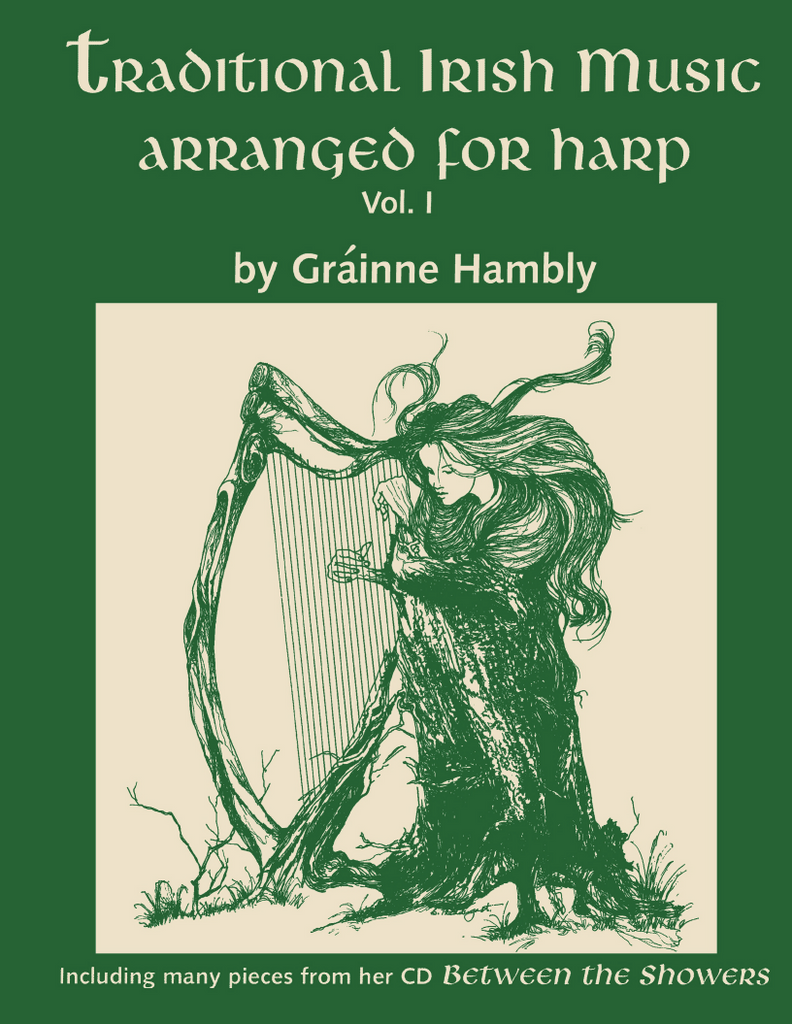 TRADITIONAL IRISH MUSIC ARRANGED FOR HARP VOL 1 BOOK - GRAINNE HAMBLY