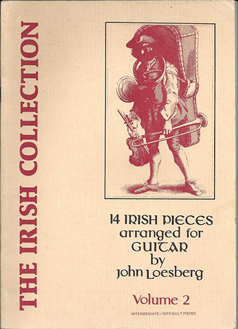 14 Irish Pieces arranged for Guitar - John Loesberg  Volume 2