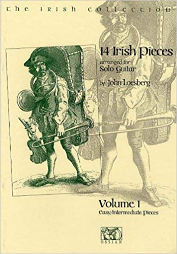 14 Irish Pieces arranged for Guitar - John Loesberg   Volume 1