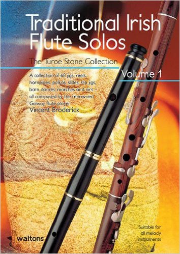 Traditional Irish FLUTE SOLOS - Turoe Stone Collection V. Broderick