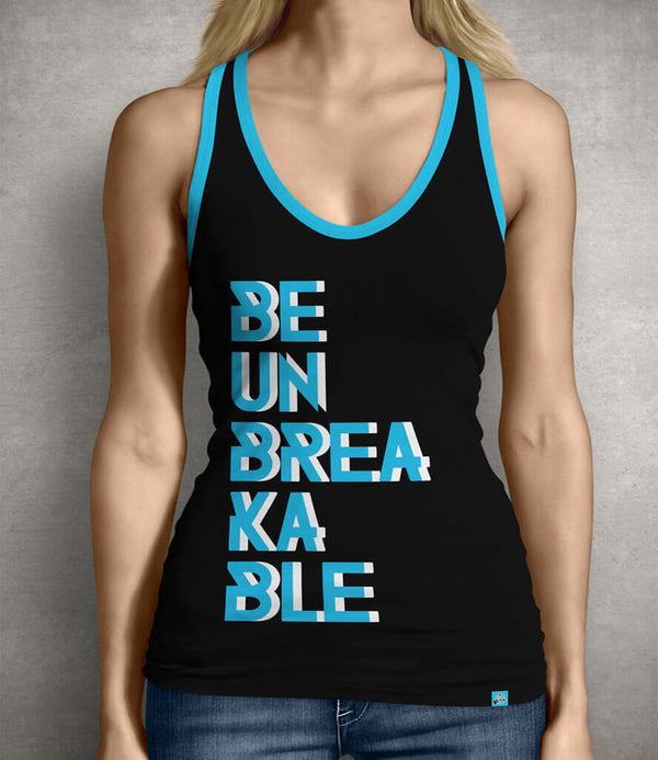 Be Unbreakable Women's Tank Top - Black