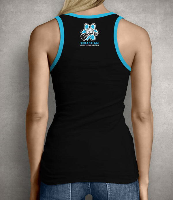 Be Unbreakable Women's Gym Tank Top - Black