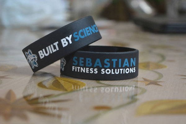 Sebastian Fitness – Built By ScienceTM Gym Wristband