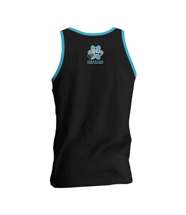 Be Unbreakable Men's Gym Tank Top - Black