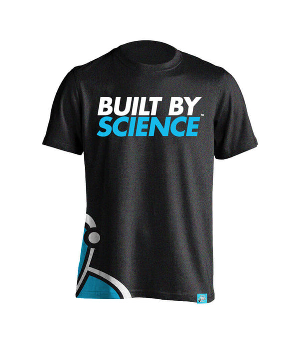 Built By Science Men's Tshirt - Charcoal Gray
