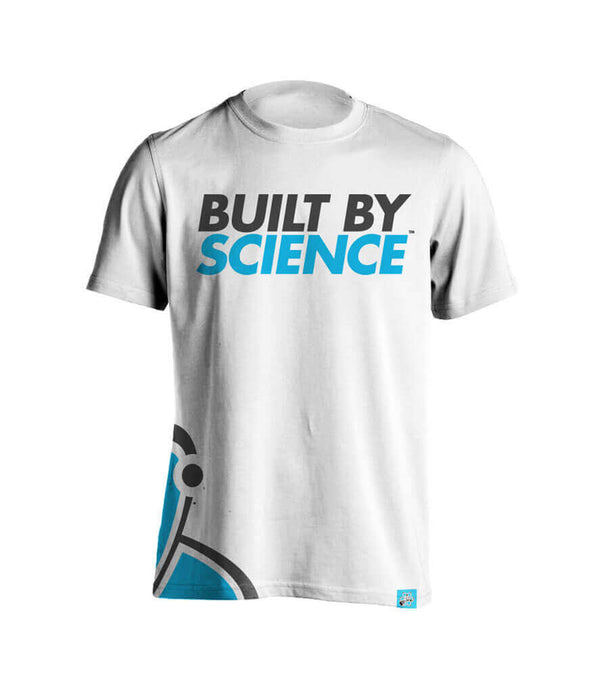 Built By Science Men's Tshirt - White