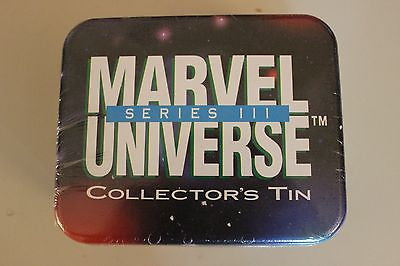 Marvel Universe 1992 Premier Edition Trading Card Set Sealed Tin - Cyber City Comix