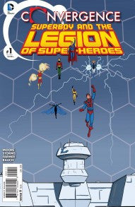 Convergence Superboy and the Legion of Super-Heroes #1-2 - Cyber City Comix