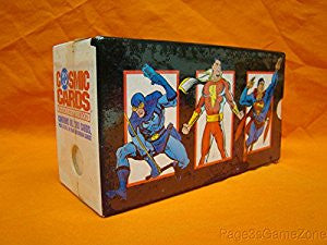 DC Cosmic Cards Inaugural Edition Trading Cards Box Set - Cyber City Comix