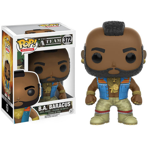 A-Team: B.A. Baracus - Cyber City Comix