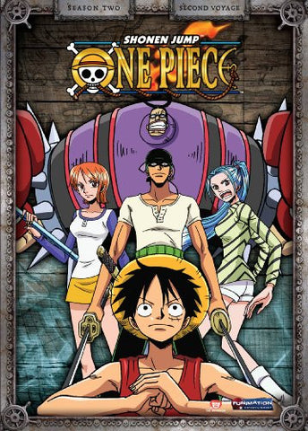 One Piece - Season Two: Second Voyage DVD - Cyber City Comix