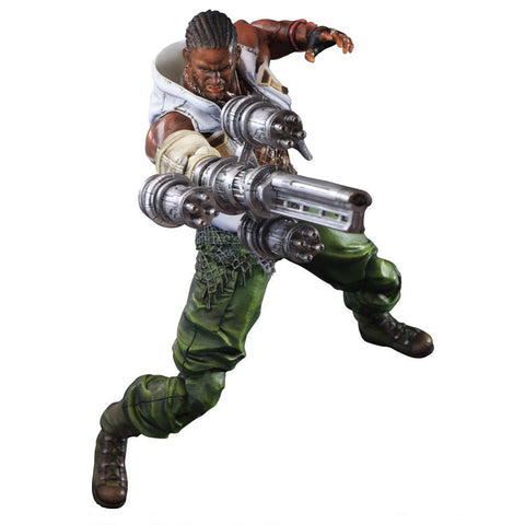 Final Fantasy VII Advent Children - Barret Wallace - Cyber City Comix