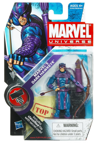 Marvel Universe - Dark Hawkeye Figure - Cyber City Comix