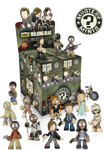 Mystery Minis: The Walking Dead Series 4 - Cyber City Comix