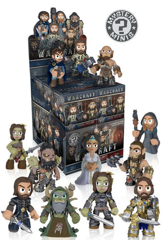 Mystery Minis: Warcraft Movie - Cyber City Comix