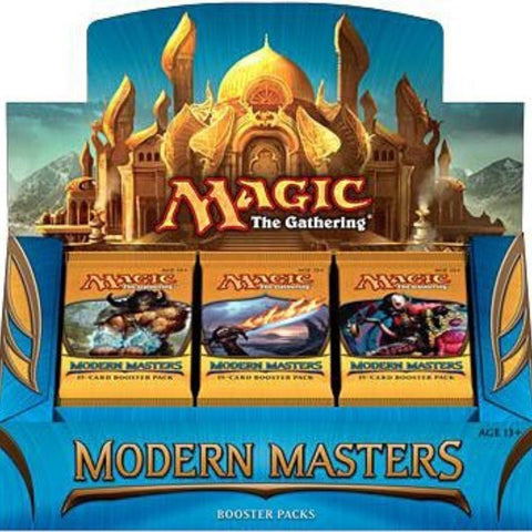 Magic the Gathering - Modern Masters 2013 Box - Cyber City Comix