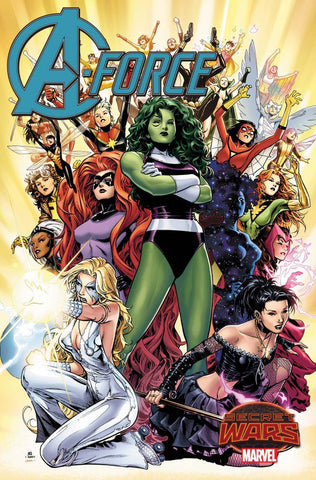 A-Force (2015) #1-5 - Cyber City Comix
