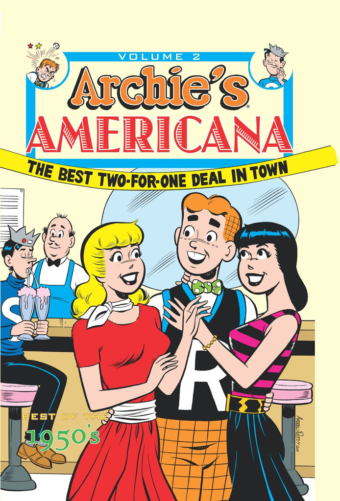 Archie's Americana - Vol 2: Best of the 1950's Hardcover - Cyber City Comix