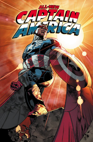 All New Captain America #1-5 - Cyber City Comix