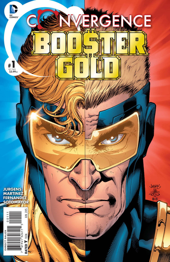 Convergence Booster Gold #1-2 - Cyber City Comix