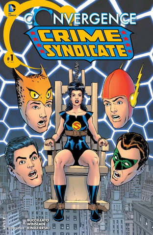 Convergence Crime Syndicate #1-2 - Cyber City Comix