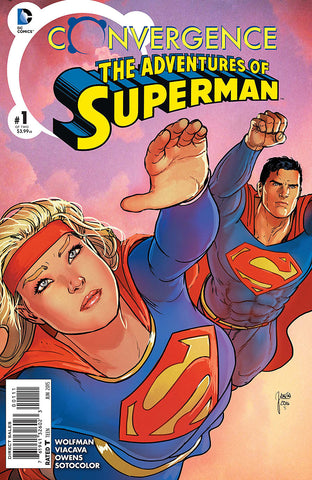 Convergence The Adventures of Superman #1-2 - Cyber City Comix
