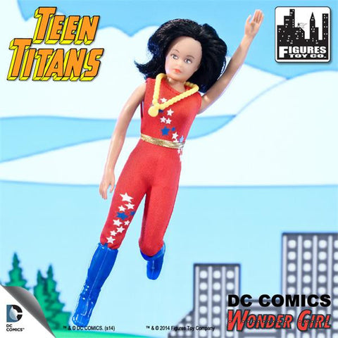 DC Teen Titans Retro - Wonder Girl - Cyber City Comix