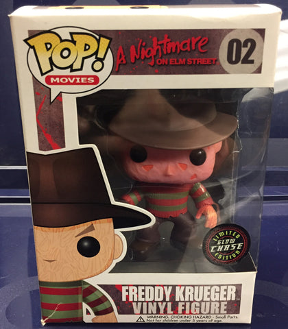 A Nightmare on Elm St. Freddy (Glow in Dark Chase) - Cyber City Comix
