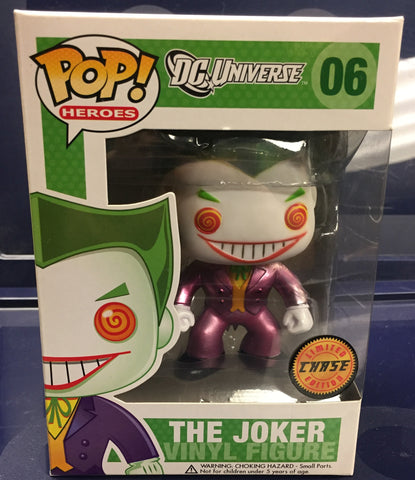 DC Heroes: The Joker (Metallic Chase) - Cyber City Comix