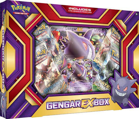 Pokemon - Gengar EX Box - Cyber City Comix