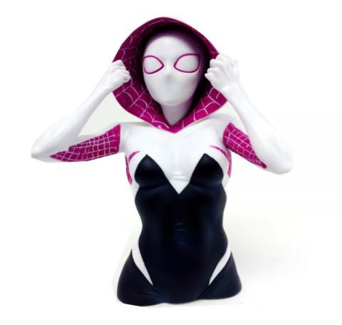 Marvel Spider-Gwen Bust Bank - Cyber City Comix