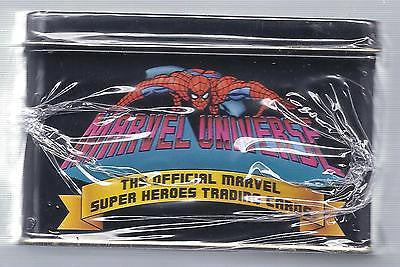 Marvel Universe 1990 Premier Edition Trading Card Set Sealed Tin - Cyber City Comix