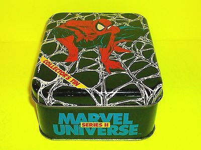 Marvel Universe 1991 Premier Edition Trading Card Set Sealed Tin - Cyber City Comix