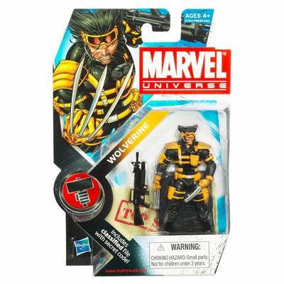 Marvel Universe - Team X Wolverine Figure - Cyber City Comix