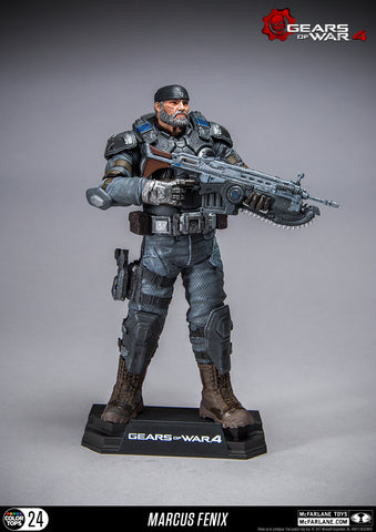 Gears of War 4 - Marcus Fenix figure - Cyber City Comix