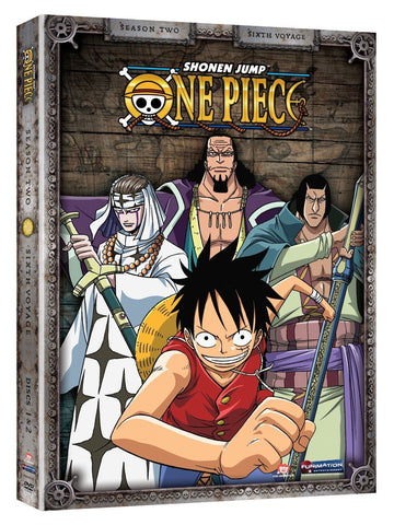 One Piece - Season Two: Sixth Voyage DVD - Cyber City Comix