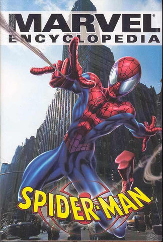 Marvel Encyclopedia Vol 4 - Spider-Man Hardcover - Cyber City Comix