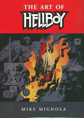 The Art of Hellboy by Mike Mignola Trade Paperback - Cyber City Comix
