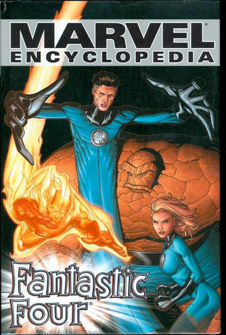 Marvel Encyclopedia Vol 6 - Fantastic Four Hardcover - Cyber City Comix