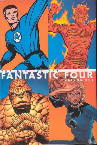 Best of Fantastic Four HC volume 1. - Cyber City Comix