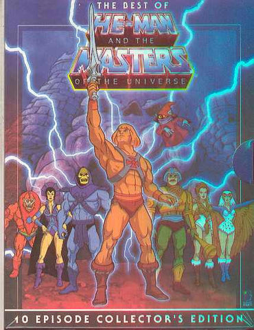 Best of He-Man and the Masters of the Universe DVD - Cyber City Comix